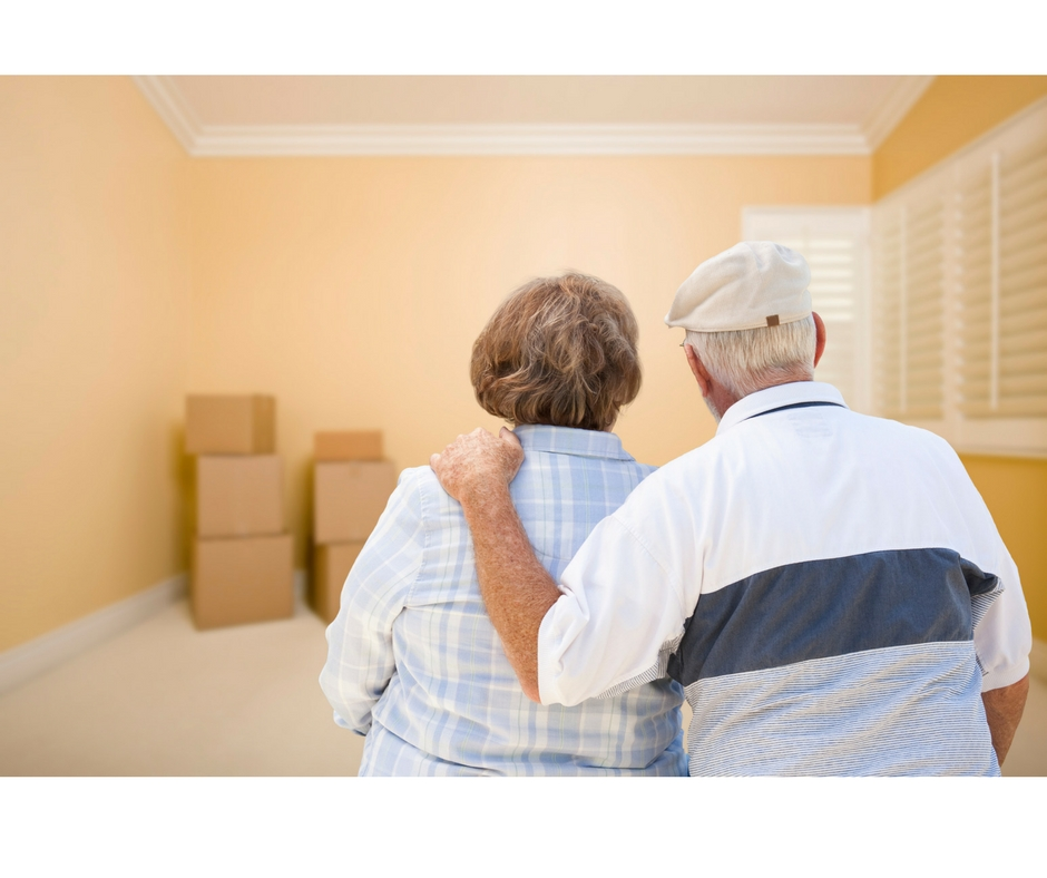 Moving Old Couple